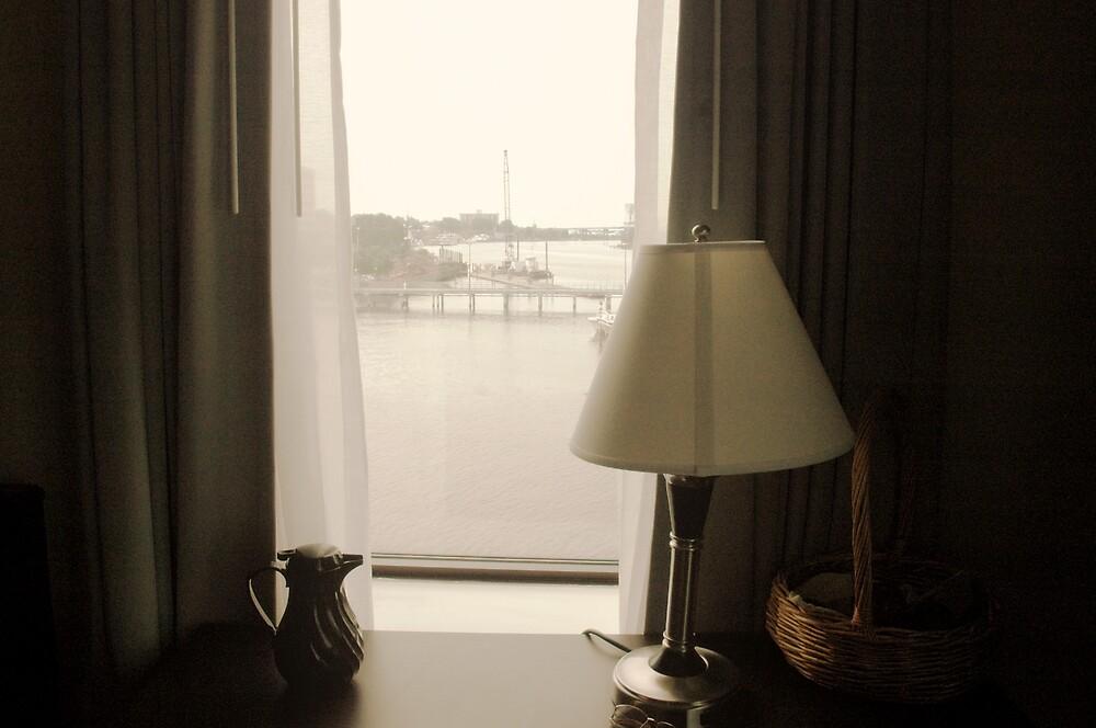 OUTSIDE MY WINDOW by Gleniceava