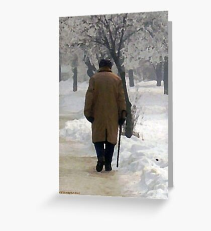 Winter Age Greeting Card