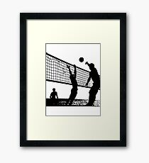 Volleyball Action Framed Print