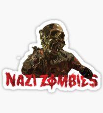 Zombies - WWII Sticker