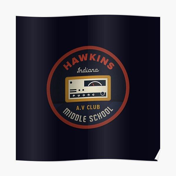 Hawkins AV Club Poster