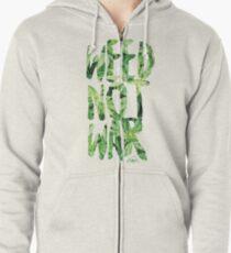 Weed Not War Zipped Hoodie