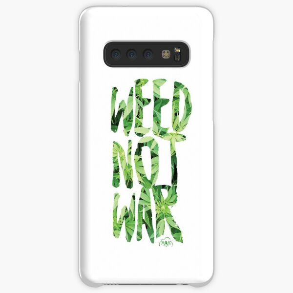 Weed Not War Samsung Galaxy Snap Case