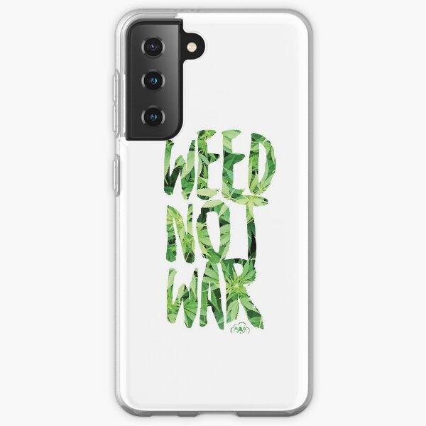 Weed Not War Samsung Galaxy Soft Case