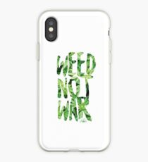 Weed Not War iPhone Case