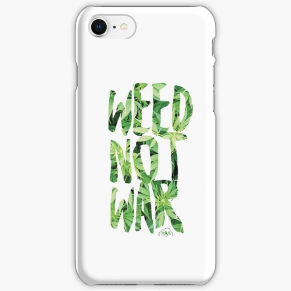 Weed Not War iPhone Snap Case