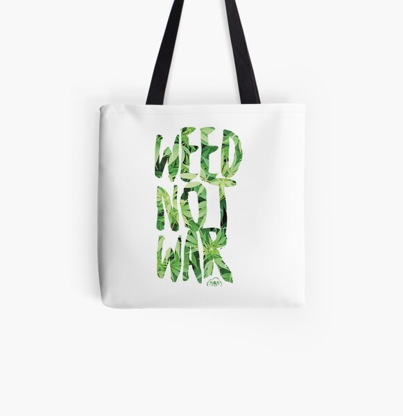 Weed Not War All Over Print Tote Bag