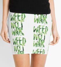 Weed Not War Mini Skirt