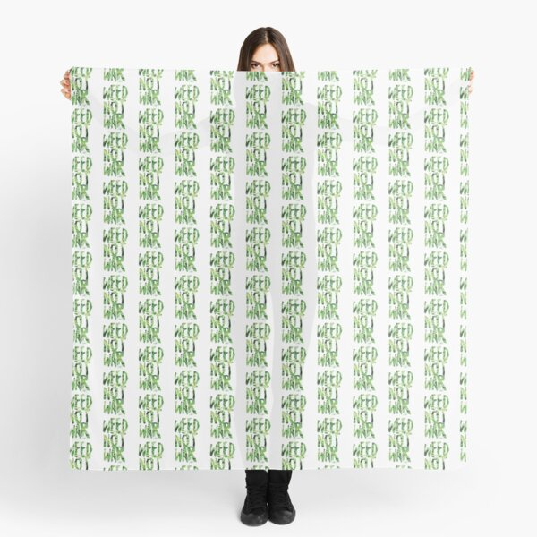 Weed Not War Scarf