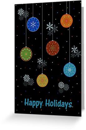 Happy Holidays Design by Cristina Bianco Design