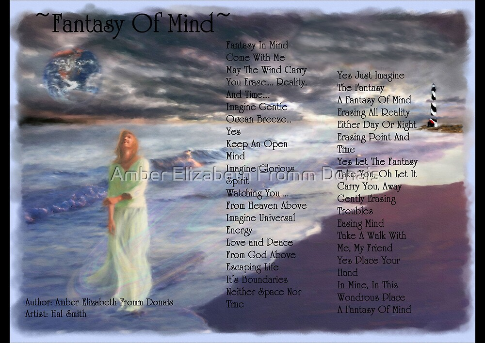 Fantasy Of Mind by Amber Elizabeth Fromm Donais