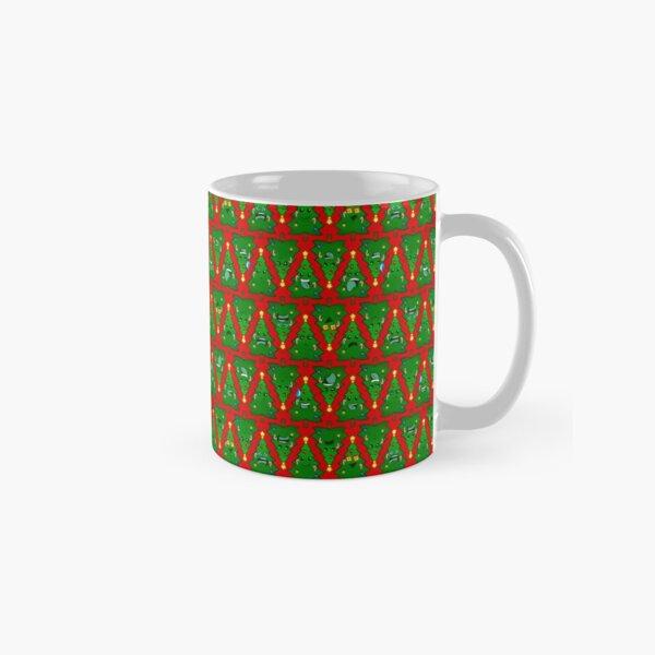 Treemojis Pattern Classic Mug