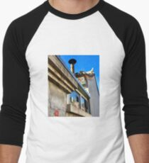 Beautiful Rooftops Men's Baseball ¾ T-Shirt