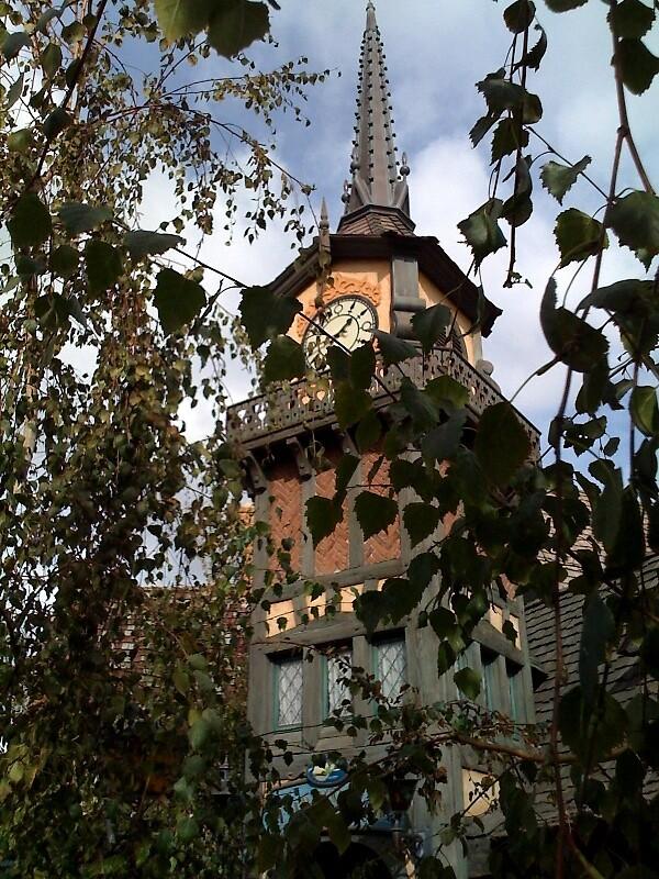Peter Pan ride @ Disneyland by Lisa Ouillette