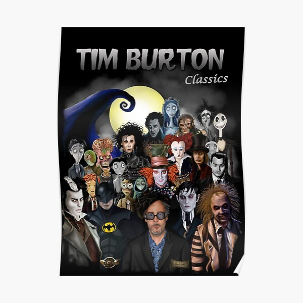 Tim Burton Classics Poster