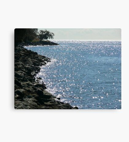 Sparkling Redcliffe Canvas Print
