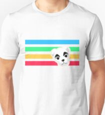 Animal Crossing Rainbow K.K. Slider Unisex T-Shirt