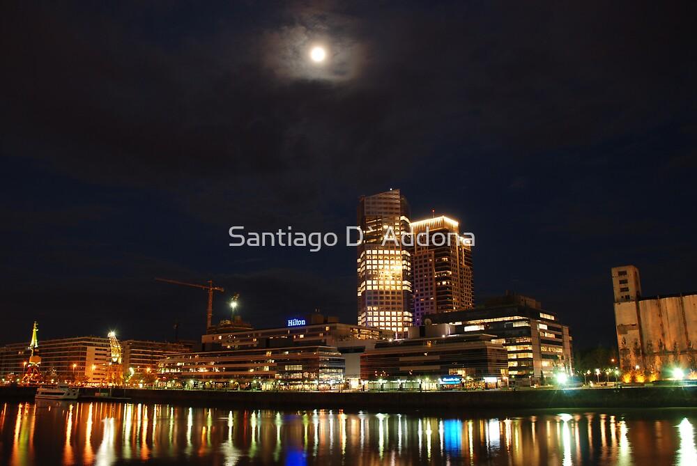 Puerto Madero by Santiago D`Addona