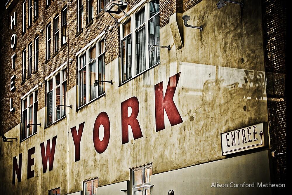 Hotel New York - Rotterdam by Alison Cornford-Matheson