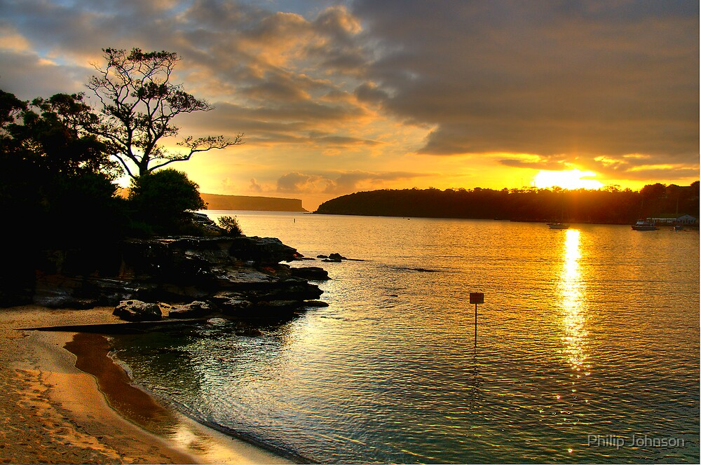 Glory - Balmoral Beach - The HDR Series by Philip Johnson