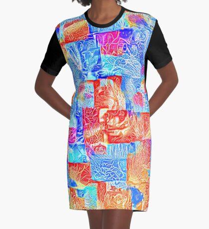 Light bright energy Graphic T-Shirt Dress