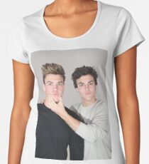Cute twins Women's Premium T-Shirt