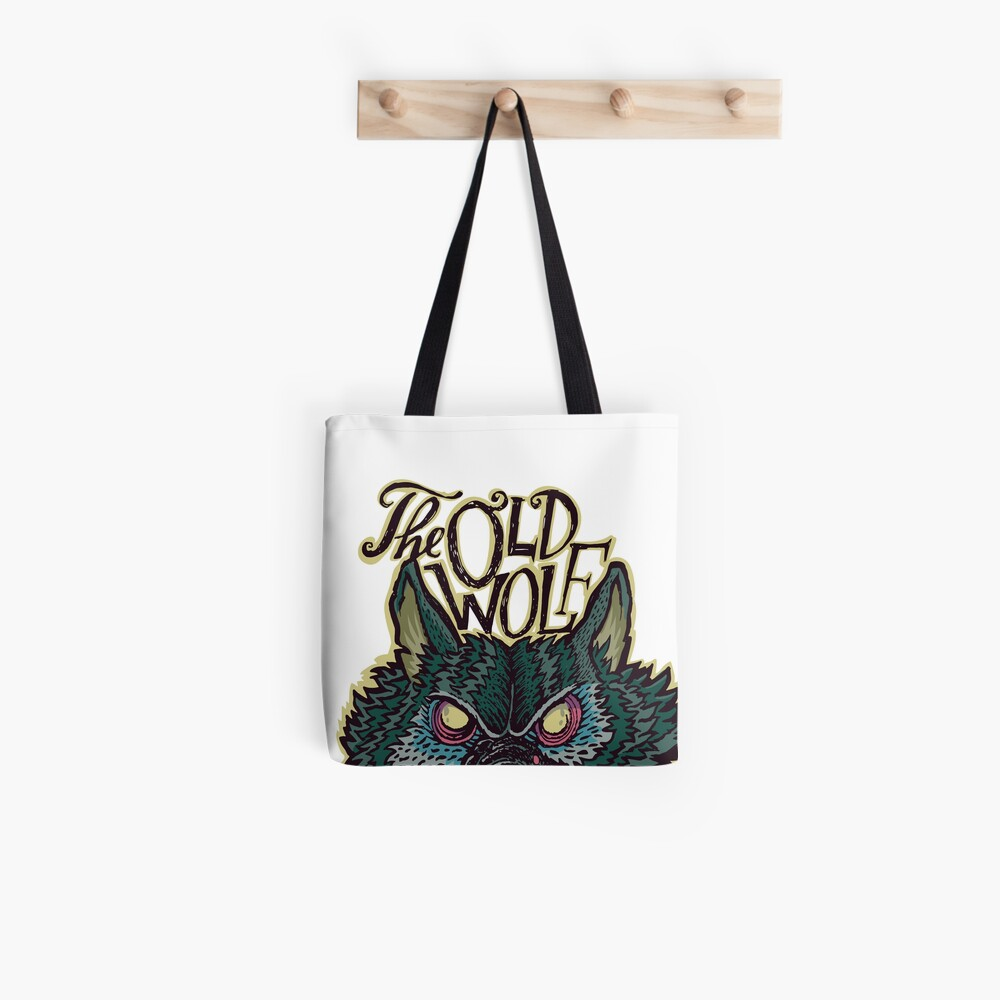 Head Old Wolf Tote Bag