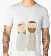 St. Joseph and Virgin Mary Men's Premium T-Shirt