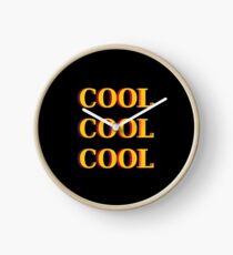 COOL COOL COOL Clock