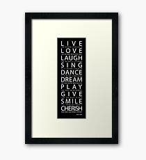 Mark Twain Quote Framed Print