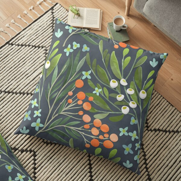 Summer Night Floor Pillow