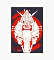 GAT-X105B Build Strike Gundam Art Print