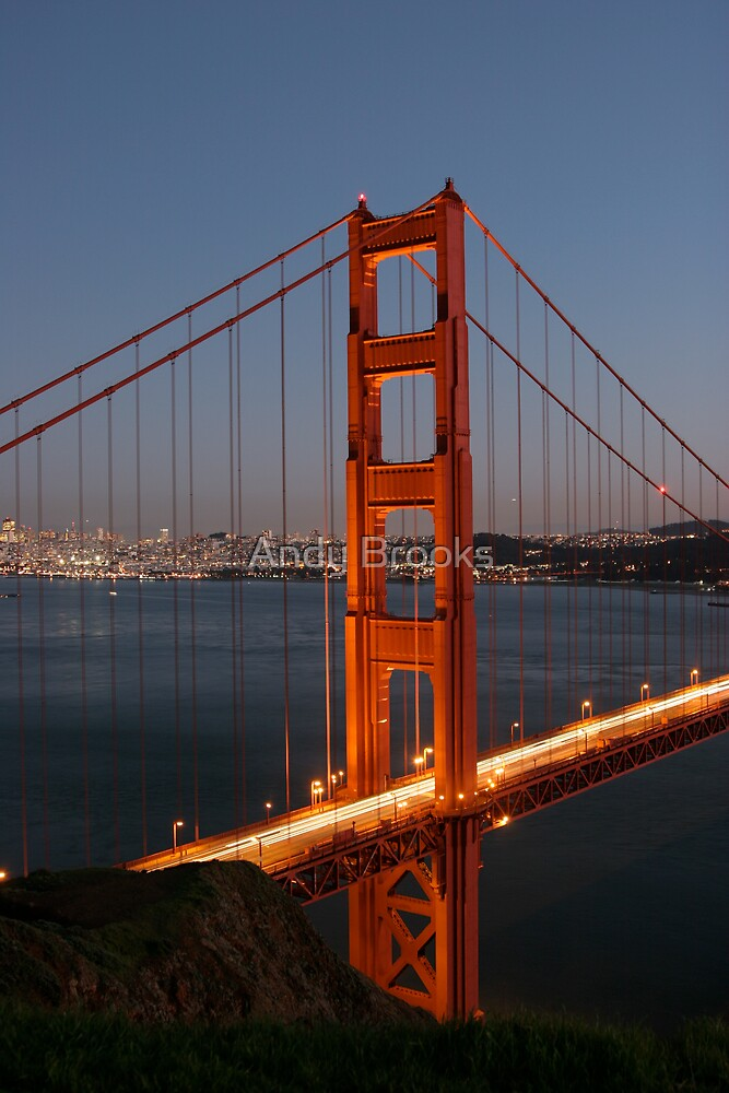 Golden Gate Bridge Tall by Andy Brooks