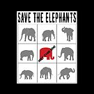 Save The Elephants Not GOP by EthosWear