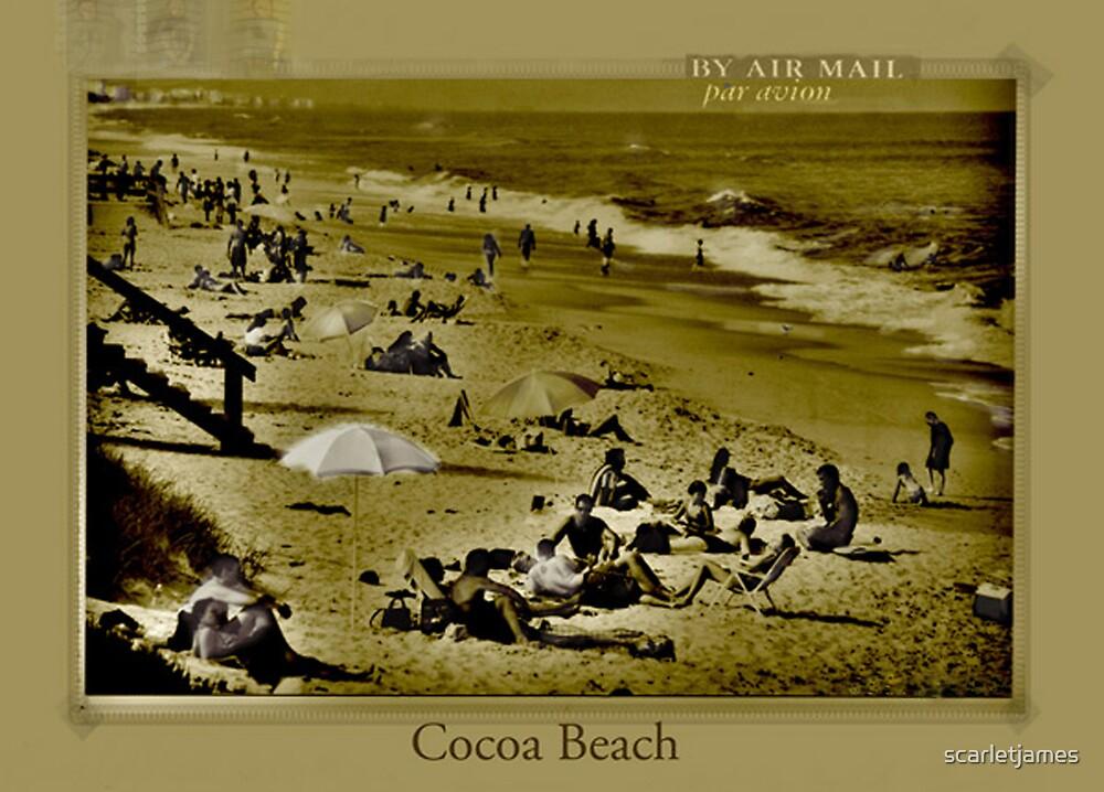 Cocoa Beach by scarletjames