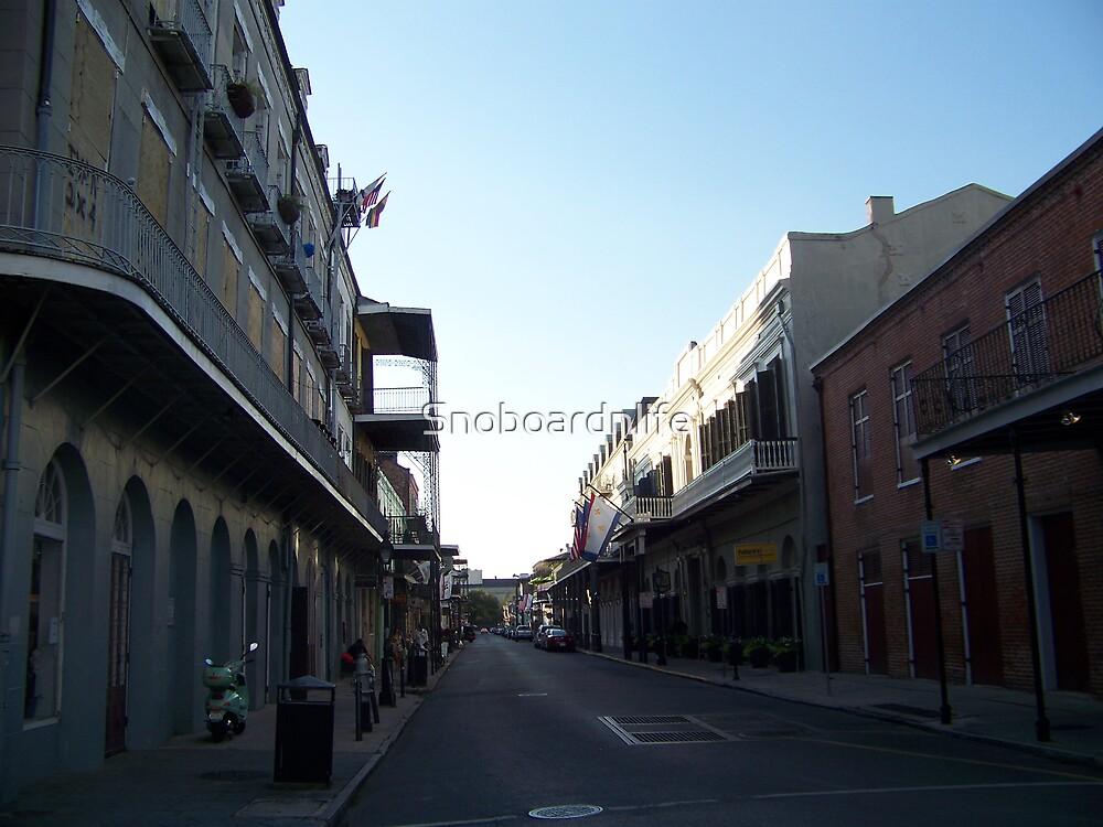 New Orleans Alleyways by Snoboardnlife
