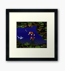 Donkey Kong Country - Coral Capers Framed Print
