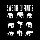 Save The Elephants by EthosWear