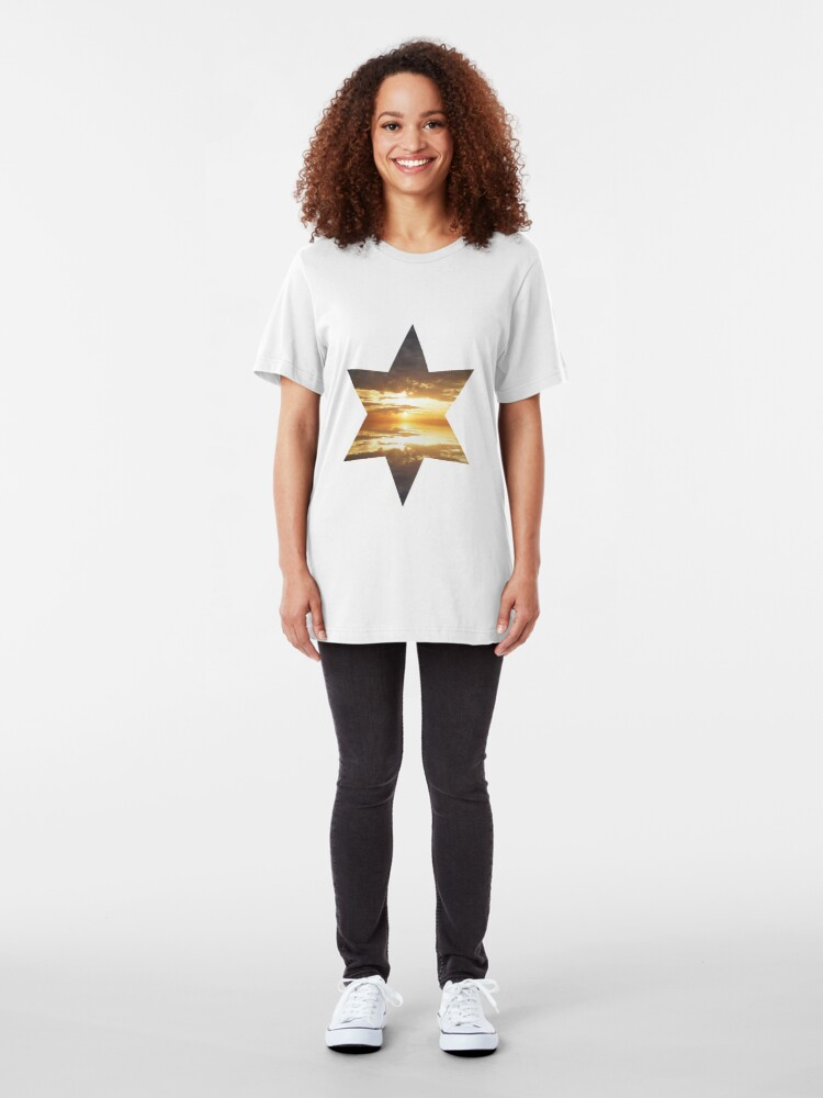 Alternate view of Pearly Dawn Slim Fit T-Shirt