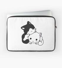 Zwei süße Katzen Laptoptasche