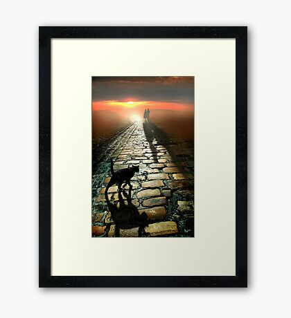 The Road to Eternity Framed Print