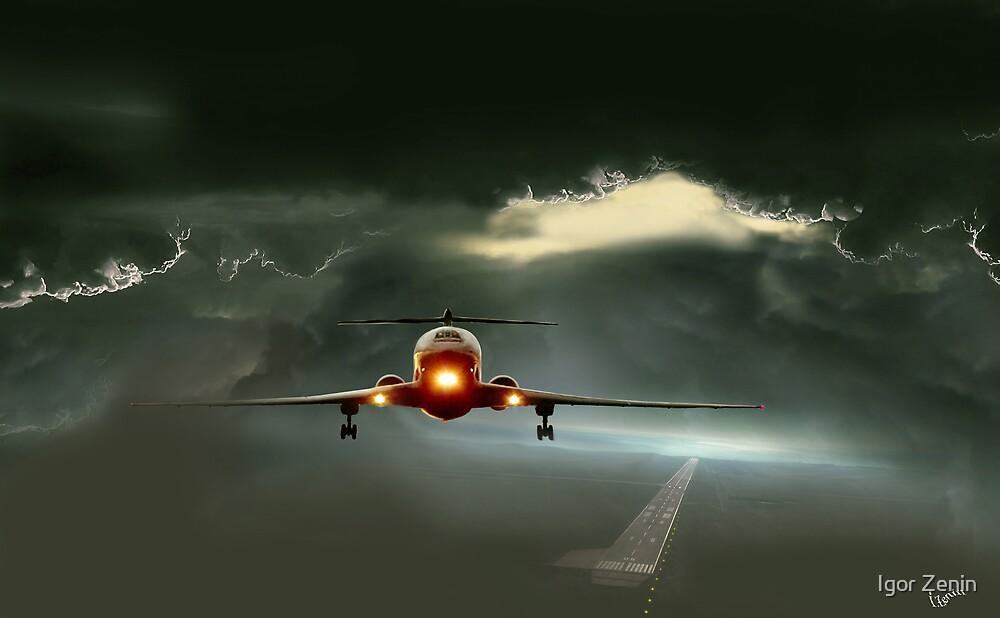 Takeoff by Igor Zenin