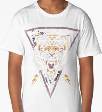 Thee-eyed Tiger Long T-Shirt