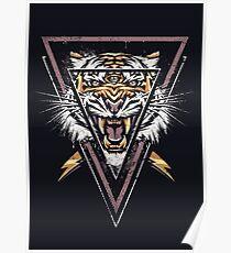 Thee-äugiger Tiger Poster