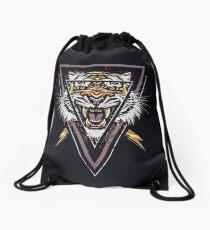 Thee-eyed Tiger Drawstring Bag