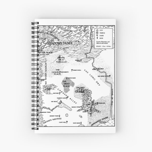 RQ2 PRAX Map (pairs with RQ2 DRAGON PASS Map) Spiral Notebook