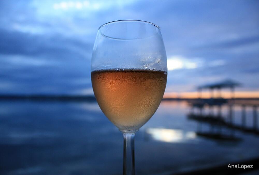 Wine & Sunset by AnaLopez