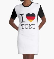 I ♥ TONI Graphic T-Shirt Dress