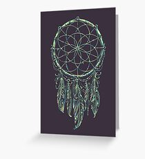 Dream Catcher Acid Greeting Card