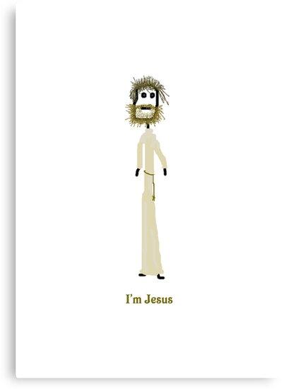 I'm Jesus Card by MuscularTeeth